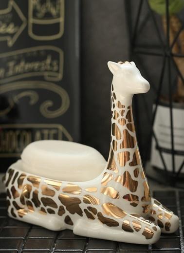 Warm Design Seramik Zürafa Takılık & Yüzük Tutucu Renkli